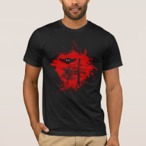 Demon Owl in Forest T-Shirt