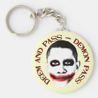 Demon Pass - Anti ObamaCare Keychain