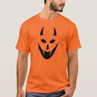 Demon Pumpkin Face T-Shirt