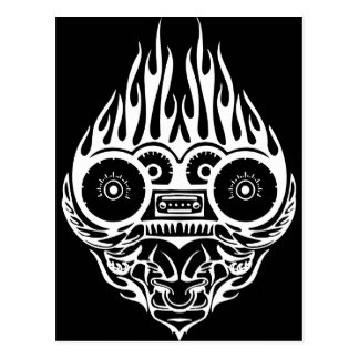 Demon Racing Postcard