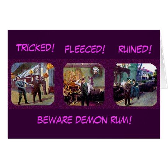 Demon Rum - Card
