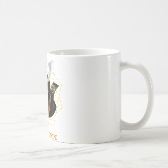 demon samurai coffee mug