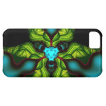 Demon Shadows – Emerald and Yellow Mask iPhone 5C Case