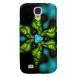 Demon Shadows – Emerald and Yellow Mask Galaxy S4 Cover