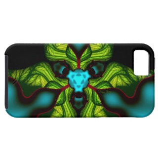 Demon Shadows – Emerald and Yellow Mask iPhone 5 Covers