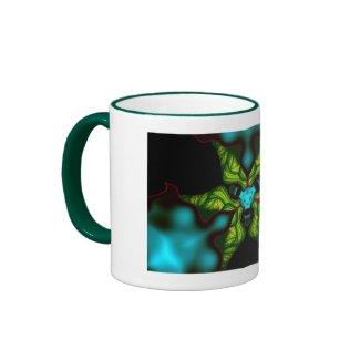Demon Shadows – Emerald and Yellow Mask Mug