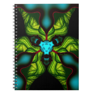 Demon Shadows – Emerald and Yellow Mask Notebooks