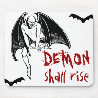 DEMON shall rise Mouse Pad