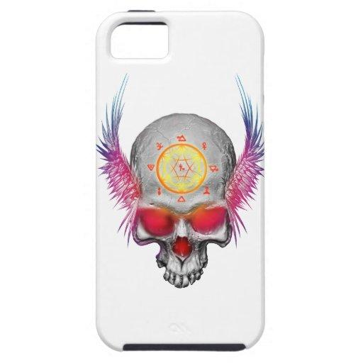 Demon Skull 01 iPhone 5 Cases