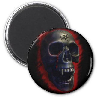 Demon Skull 1 Magnet