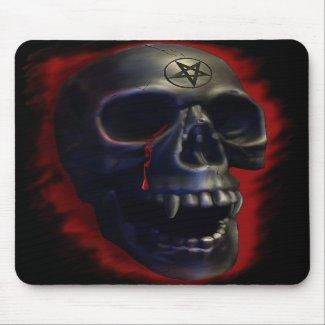 Demon Skull 1 Mousepad mousepad