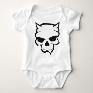 Demon Skull Baby Bodysuit