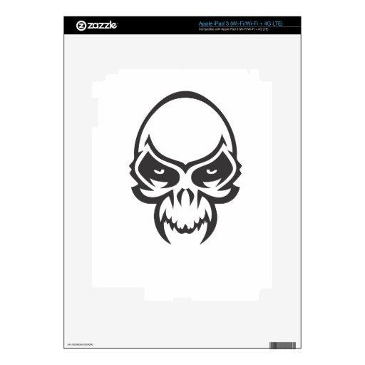 Demon Skull iPad 3 Skin