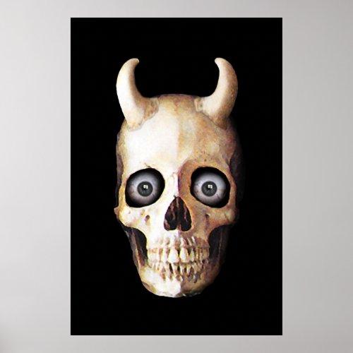 Demon Skull print