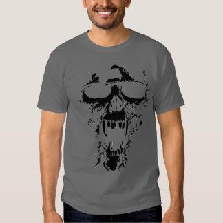 Demon skull t shirt