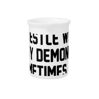 Demon Snuggle Pitcher