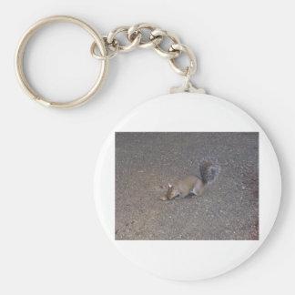 Demon Squirrel Keychain