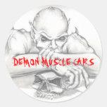 DEMON STICKER, DEMON MUSCLE CARS