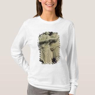 Demon tempting a woman, exterior figure T-Shirt