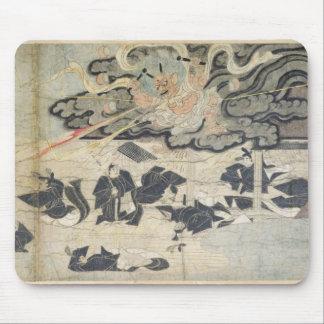 Demon Thunder, Tenjin Shrine, Kamakura Period Mouse Pad
