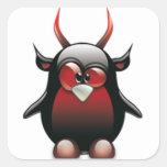 Demon Tux (Linux Tux) Sticker