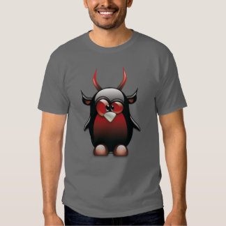 Demon Tux (Linux Tux) T Shirt