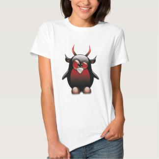 Demon Tux (Linux Tux) Tee Shirt
