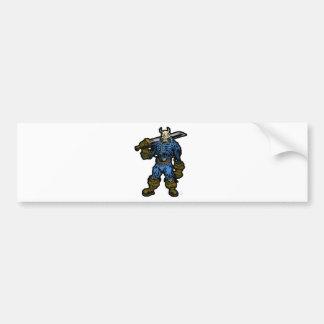 Demon Warrior Bumper Stickers