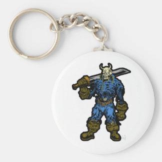 Demon Warrior Keychain