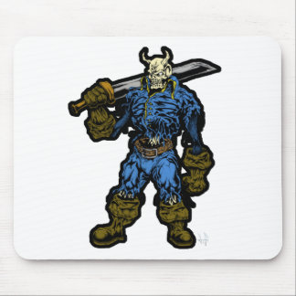 Demon Warrior Mouse Pad