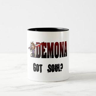 Demona 2 Tone Mug Soul Black