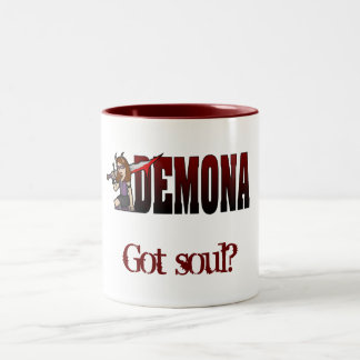 Demona 2 Tone Mug Soul Red