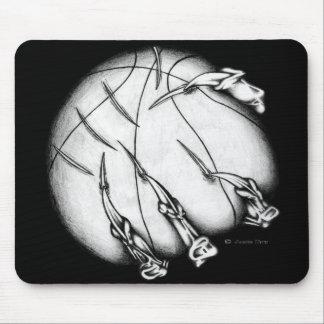 Demonic Basketball Mouse Pad
