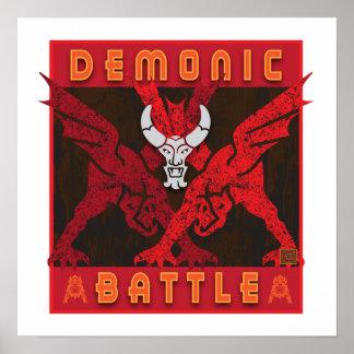 Demonic Battle-Poster