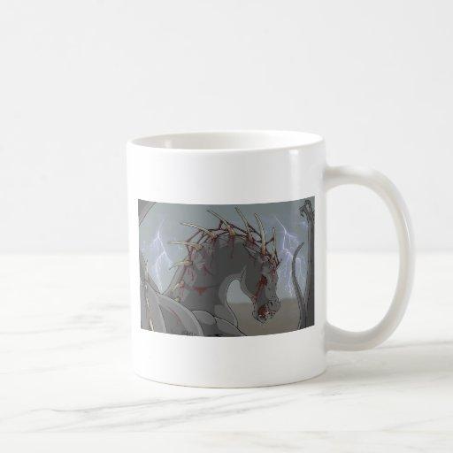 Demonic Horse Coffee Mug