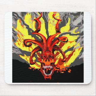 Demonic Skull Mousepad