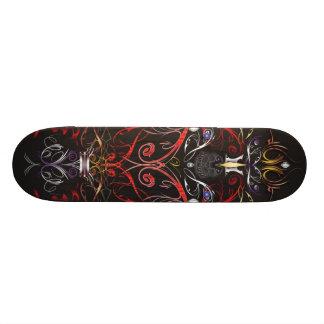 Demonic Sunrise Skateboard