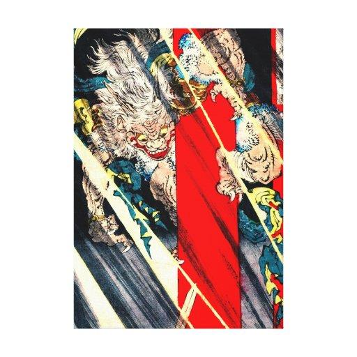 Demonio 1880 de Ibaraki Impresión En Lienzo