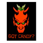 ¿Demonio conseguido del caramelo? Postal
