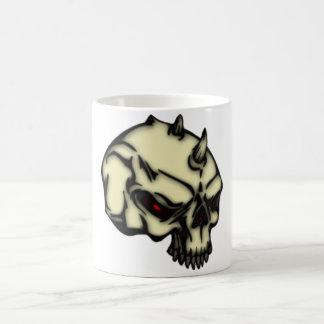 Demonio cráneo taza de café