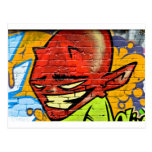 Demonio de la pintada postales