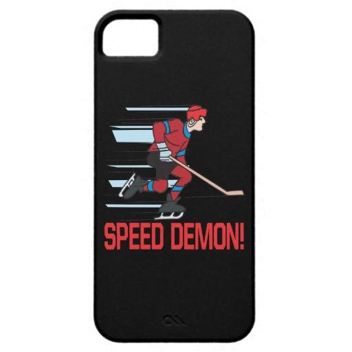 Demonio de velocidad iPhone 5 cárcasas