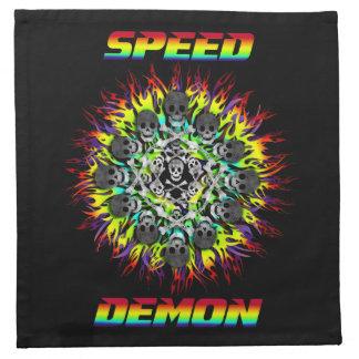 demonio de velocidad servilletas
