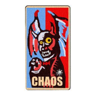 demonio del caos etiquetas de envío