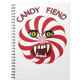 Demonio del caramelo notebook