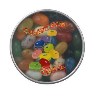 Demonio del Jellybean Frascos De Caramelos