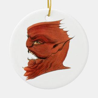 Demonio del vintage de Asmodeus Ornamento Para Reyes Magos