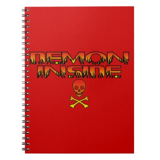 Demonio dentro del cuaderno