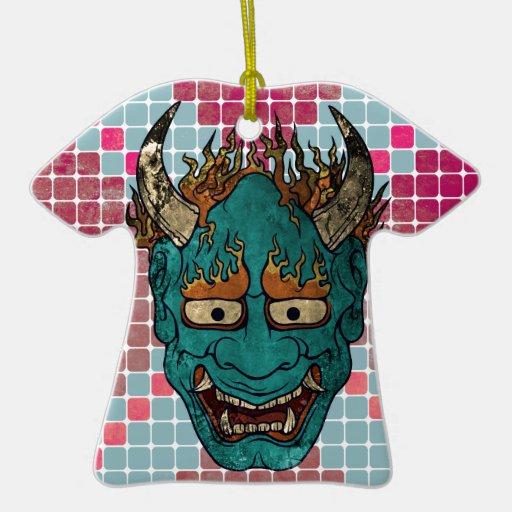 Demonio japonés ornamente de reyes
