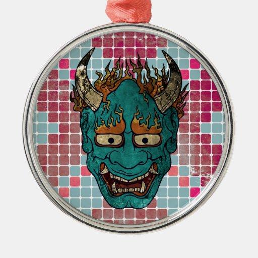 Demonio japonés ornamentos de reyes
